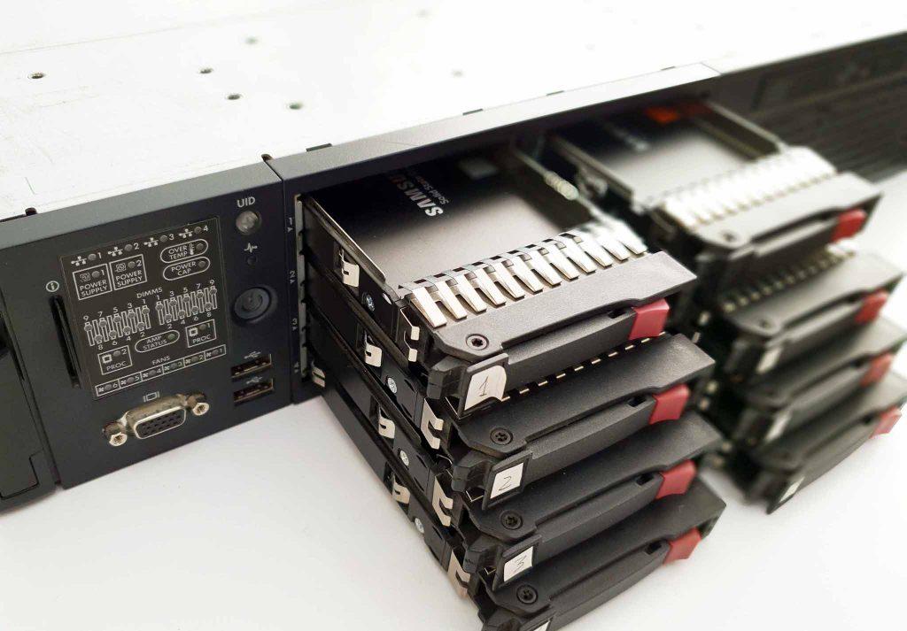 HP Server RAID 10 Data Recovery